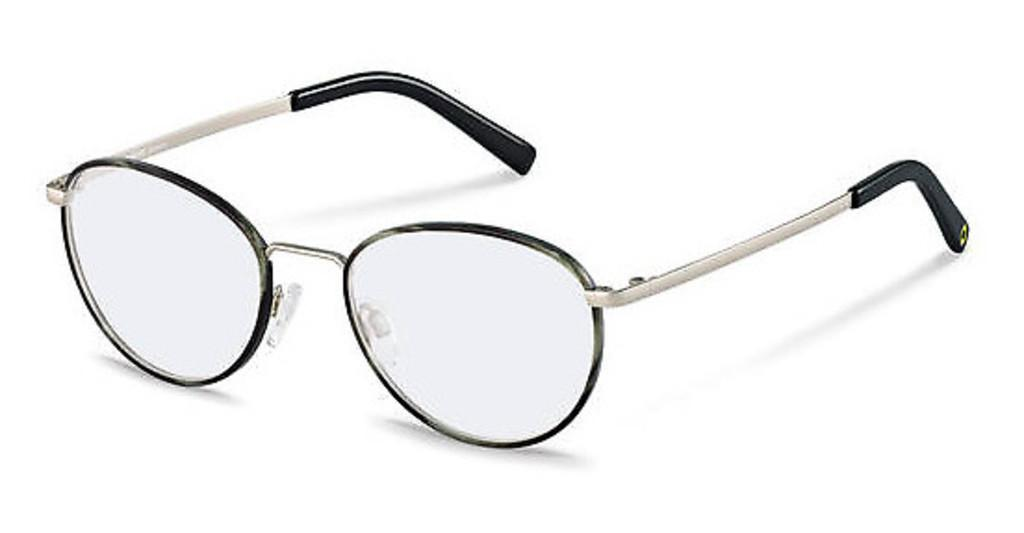 Rocco by Rodenstock   RR217 A grey structured, silver