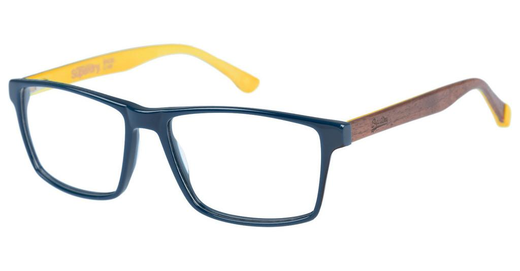 Superdry   SDO Inca 105 blue/yellow/brown wood