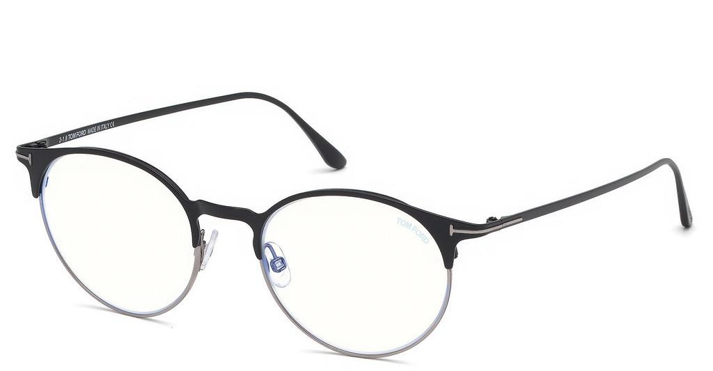 Tom Ford   FT5548-B 002 schwarz matt