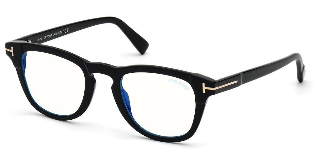 Tom Ford   FT5660-B 001 schwarz glanz