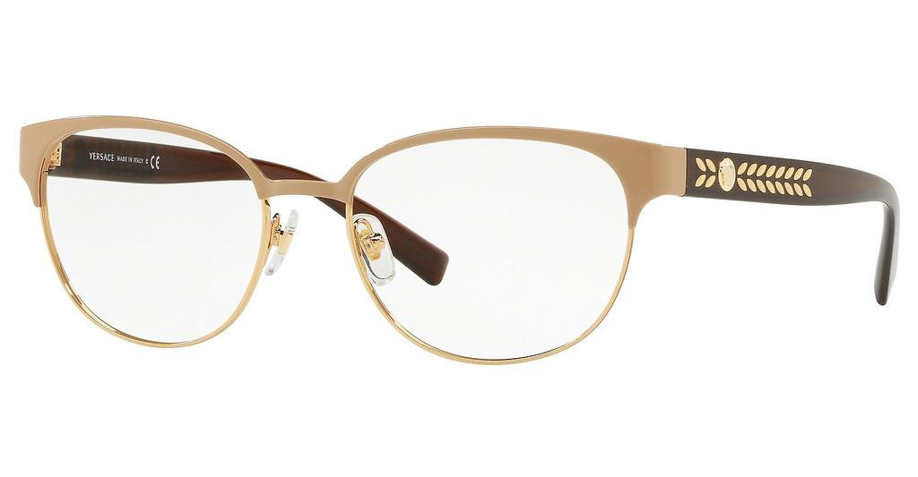 Versace   VE1256 1434 BROWN/PALE GOLD