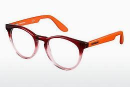 Brille Carrera CARRERINO 58 W9H - Rot, Orange