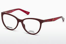 Brille Diesel DL5268 069 - Burgund, Bordeaux, Shiny