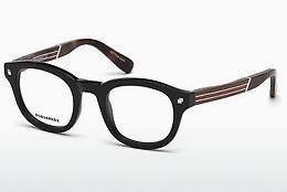 Dsquared2 Herren Brille » DQ5242«, schwarz, 001 - schwarz