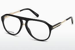 Dsquared2 Brille » DQ5227«, schwarz, 001 - schwarz