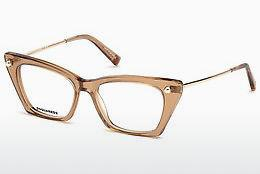 Brille Dsquared DQ5245 072 - Gold, Rosa