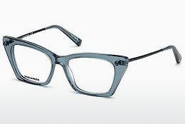 Brille Dsquared DQ5245 084 - Blau, Azure, Shiny