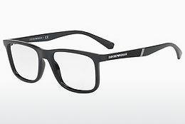Emporio Armani Herren Brille » EA1073«, schwarz, 3001 - schwarz