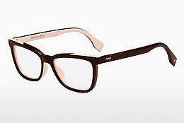 FENDI Fendi Damen Brille » FF 0122«, braun, MG1 - braun