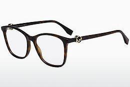 FENDI Fendi Damen Brille » FF 0309«, braun, 086 - braun