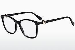 FENDI Fendi Herren Brille » FF M0006«, schwarz, 807 - schwarz