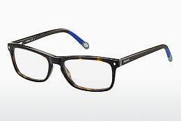 Fossil Herren Brille » FOS 6019«, braun, GXC - braun