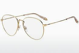 Brille Givenchy GV 0071 84E - Gold, Weiß