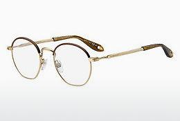 Brille Givenchy GV 0077 AOZ - Gold