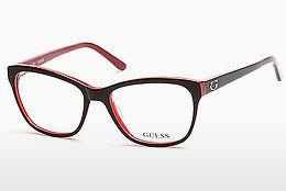 Brille Guess GU2541 070 - Burgund, Bordeaux, Matt