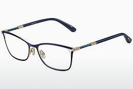 Brille Jimmy Choo JC134 J6S - Blau, Gold, Rosa