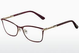 Brille Jimmy Choo JC134 J6Y - Rot, Gold, Rosa