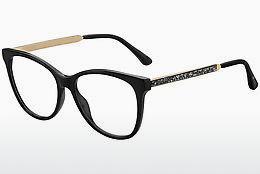 JIMMY CHOO Jimmy Choo Damen Brille » JC201«, schwarz, 807 - schwarz