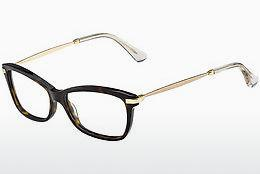 Brille Jimmy Choo JC96 7VI - Braun, Havanna