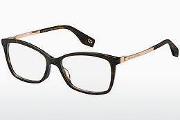 MARC JACOBS Marc Jacobs Damen Brille » MARC 239/F«, schwarz, 807 - schwarz
