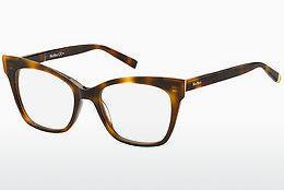 Max Mara Damen Brille » MM 1310«, braun, 086 - havana