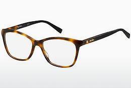 Max Mara Damen Brille » MM 1318«, braun, 086 - havana