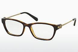 MICHAEL KORS Michael Kors Damen Brille »VANCOUVER MK4056«, braun, 3349 - braun