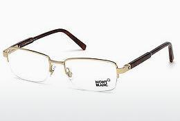 Brille Mont Blanc MB0635 028 - Gold
