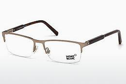Brille Mont Blanc MB0636 034 - Bronze, Bright, Shiny