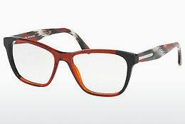PRADA Prada Damen Brille » PR 58UV«, grau, TH91O1 - grau