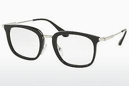 PRADA Prada Herren Brille » PR 11UV«, schwarz, 1AB1O1 - schwarz