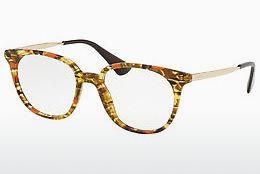 Brille Prada PR 13UV KJN1O1 - Orange, Braun, Havanna
