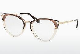 PRADA Prada Damen Brille » PR 13UV«, grün, KJJ1O1 - grün