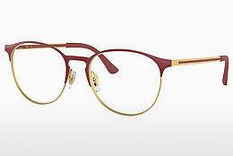 Brille Ray-Ban RX6375 2982 - Gold, Rot
