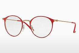 Brille Ray-Ban RX6378 2974 - Rosa, Rot
