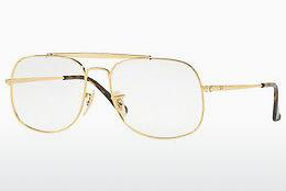 Brille Ray-Ban The General (RX6389 2500) - Gold