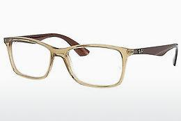 Brille Ray-Ban RX7047 5770 - Transparent, Weiß