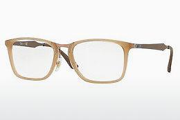 Brille Ray-Ban RX7131 8018 - Transparent, Weiß