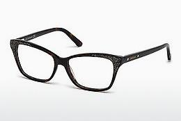 Swarovski Damen Brille » SK5222«, schwarz, 005 - schwarz