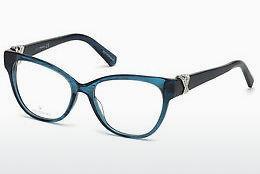 Swarovski Damen Brille » SK5249-H«, braun, 052 - braun