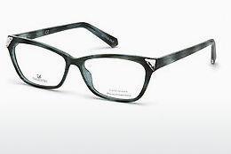 Swarovski Damen Brille » SK5223«, braun, 053 - havana