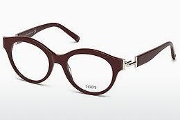 Brille Tod's TO5173 069 - Burgund, Bordeaux, Shiny