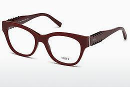 Brille Tod's TO5174 069 - Burgund, Bordeaux, Shiny