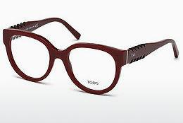 Brille Tod's TO5175 069 - Burgund, Bordeaux, Shiny