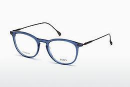 Brille Tod's TO5187 090 - Blau, Shiny