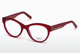 Brille Tod's TO5193 066 - Rot