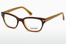 Brille Tom Ford FT5207 047 - Braun, Bright