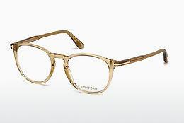 Brille Tom Ford FT5401 045 - Braun, Bright, Shiny