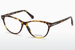 Brille Tom Ford FT5402 053 - Havanna, Yellow, Blond, Brown