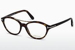 Brille Tom Ford FT5412 052 - Braun, Dark, Havana